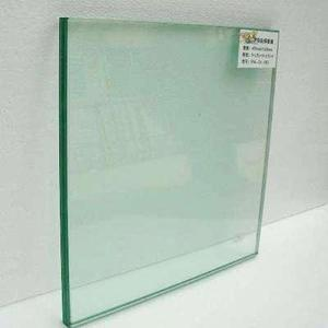 Composite fireproof glass