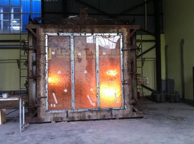 Fireproof glass insulation